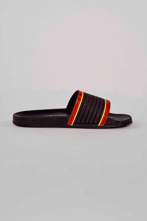 Le Fabuleux Marcel de Bruxelles Slippers zwart MDB211MA 007_BLACK img1