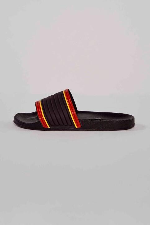 Le Fabuleux Marcel de Bruxelles Slippers zwart MDB211MA 007_BLACK img3