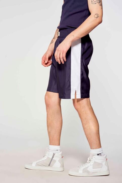 Le Fabuleux Marcel de Bruxelles Shorts blauw MDB211MT 005_NAVY img2