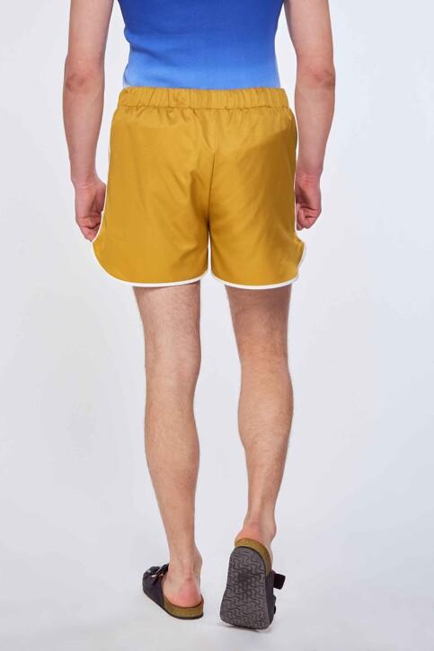 Le Fabuleux Marcel de Bruxelles Shorts bruin MDB211MT 006_DRIED TOBACCO img3