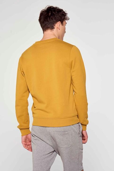 Le Fabuleux Marcel de Bruxelles Sweaters met ronde hals bruin MDB211MT 008_DRIED TOBACCO img3
