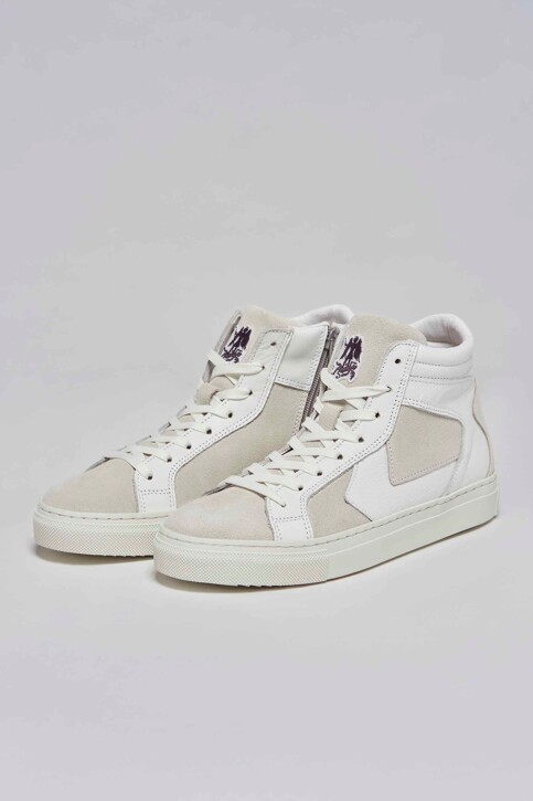 Le Fabuleux Marcel de Bruxelles Sneakers wit MDB211WA 002_WHITE img1