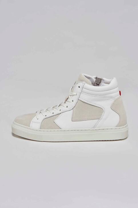 Le Fabuleux Marcel de Bruxelles Sneakers wit MDB211WA 002_WHITE img2