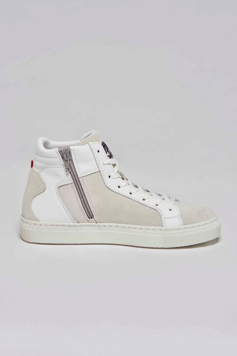 Le Fabuleux Marcel de Bruxelles Sneakers wit MDB211WA 002_WHITE img3