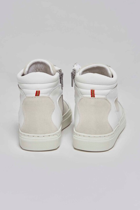 Le Fabuleux Marcel de Bruxelles Sneakers wit MDB211WA 002_WHITE img4