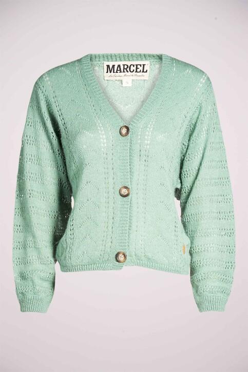 Le Fabuleux Marcel de Bruxelles Gilets groen MDB211WT 008_RESEDA GREEN img6