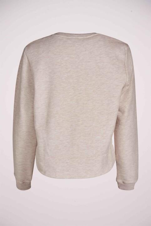 Le Fabuleux Marcel de Bruxelles Sweaters met ronde hals ecru MDB211WT 014_GREIGE MELEE img7