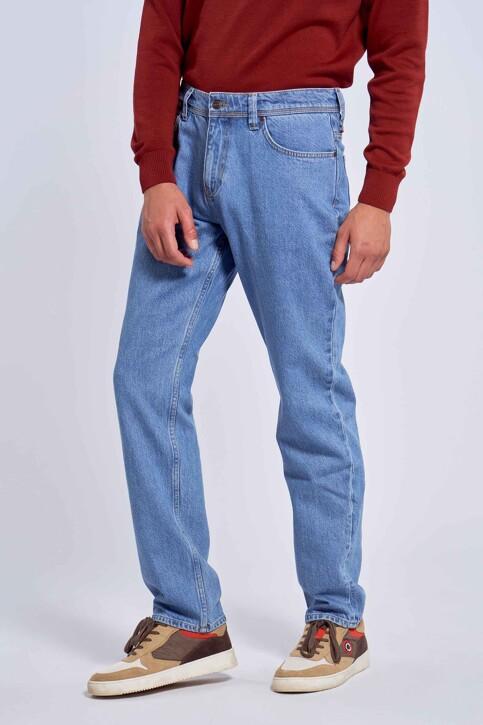 Le Fabuleux Marcel de Bruxelles Jeans straight denim MDB212MT 001_DENIM img1