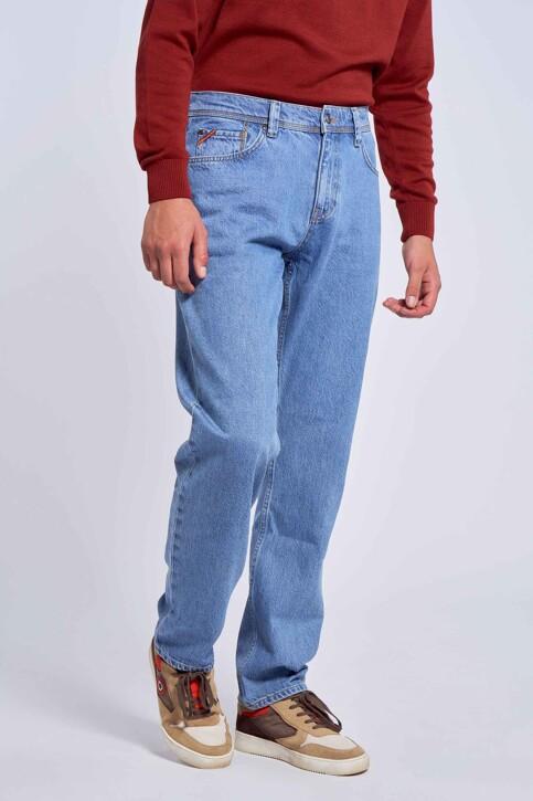 Le Fabuleux Marcel de Bruxelles Jeans straight denim MDB212MT 001_DENIM img2