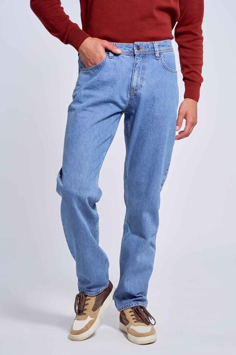 Le Fabuleux Marcel de Bruxelles Jeans straight denim MDB212MT 001_DENIM img3