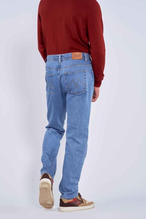 Le Fabuleux Marcel de Bruxelles Jeans straight denim MDB212MT 001_DENIM img6