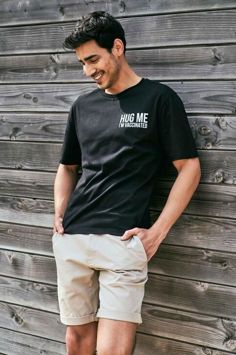 Le Fabuleux Marcel de Bruxelles T-shirts (korte mouwen) zwart MDB212WT 037_BLACK img4