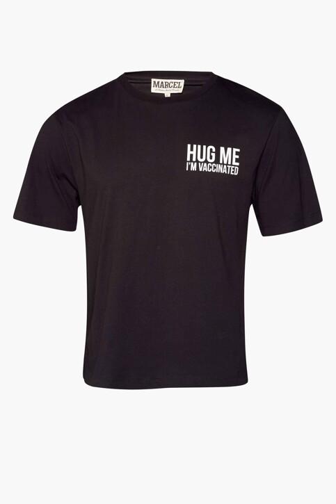 Le Fabuleux Marcel de Bruxelles T-shirts (korte mouwen) zwart MDB212WT 037_BLACK img6