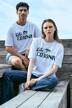 Le Fabuleux Marcel de Bruxelles T-shirts (korte mouwen) wit MDB212WT 038_BRIGHT WHITE img1
