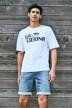 Le Fabuleux Marcel de Bruxelles T-shirts (korte mouwen) wit MDB212WT 038_BRIGHT WHITE img3