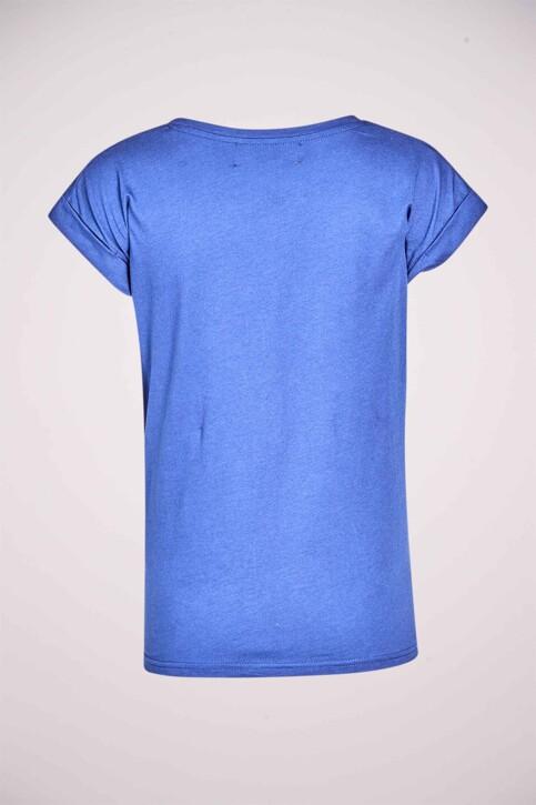 Le Fabuleux Marcel de Bruxelles T-shirts (korte mouwen) blauw MDB213WT 002_BLUE DEPTHS img6
