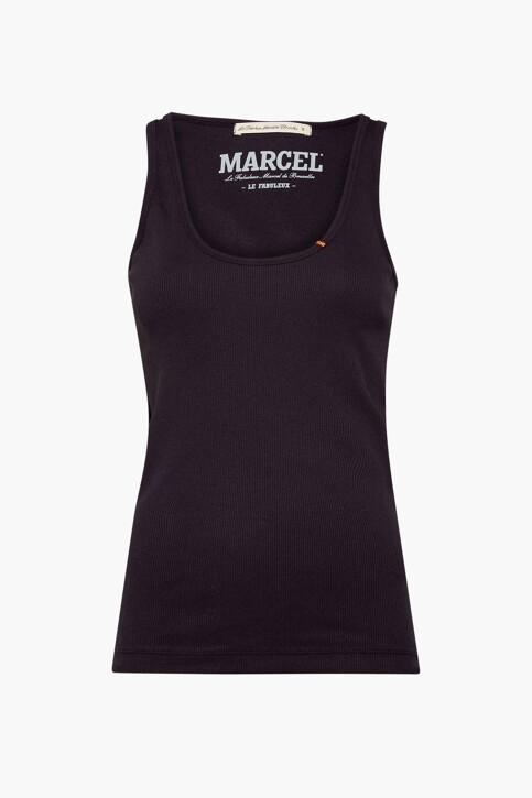 Le Fabuleux Marcel de Bruxelles Débardeurs noir MDB214WT 025_BLACK img1