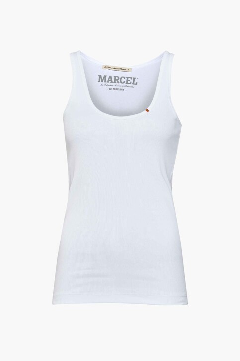 Le Fabuleux Marcel de Bruxelles Tanktops wit MDB214WT 025_WHITE img1