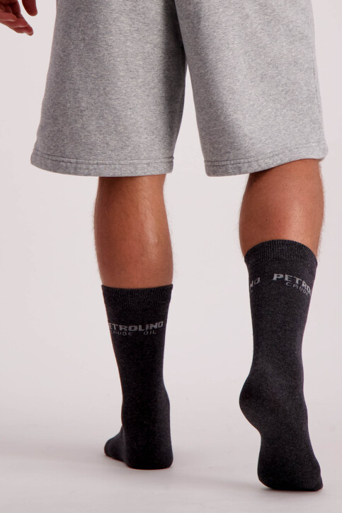Petrol Industries® Chaussettes gris MFW18SOC911_9080 STEAL MELE img3