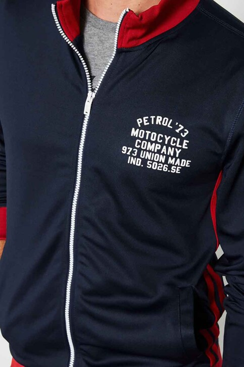 Petrol Industries® Sweaters met ronde hals blauw MFW18SWC351_5091 DEEP NAVY img3