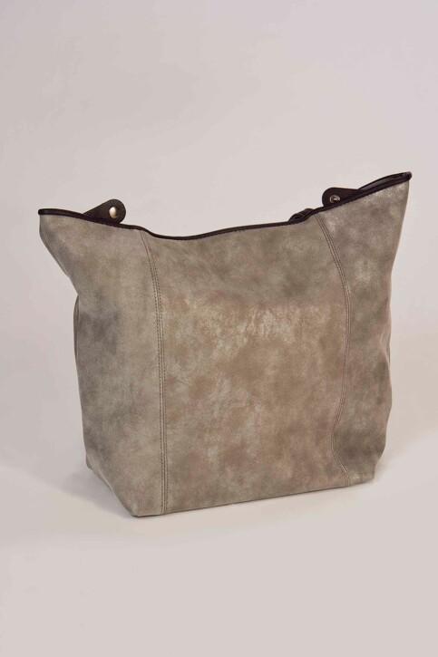 TOM TAILOR Sacoches gris MILA SHOPPER_70GREY img1