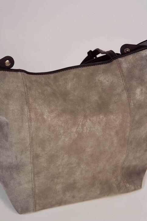 TOM TAILOR Sacoches gris MILA SHOPPER_70GREY img5