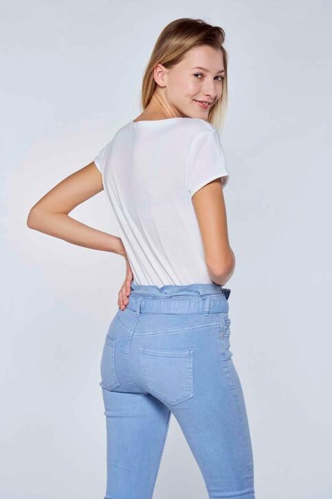 RIVERDALE T-shirts (korte mouwen) wit ML9711B_BLANC BLEU img3