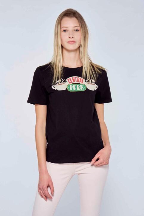 FRIENDS T-shirts (korte mouwen) zwart ML9757SE03FRI_NOIR img1