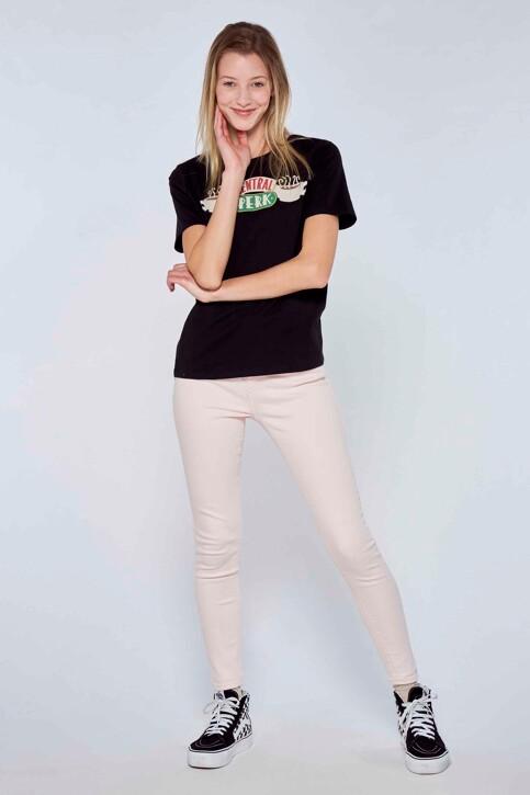 FRIENDS T-shirts (korte mouwen) zwart ML9757SE03FRI_NOIR img2