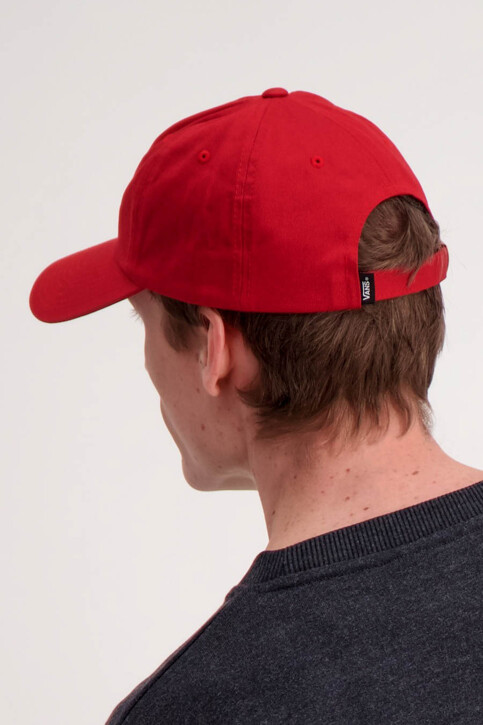 "VANS ""OFF THE WALL"" Casquettes rouge MN VANS CURVED BILL_PEPPER img3"
