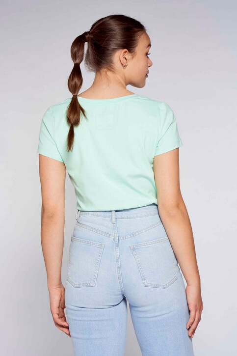 MORA T-shirts (korte mouwen) groen MOA201WT 001_MINT img3