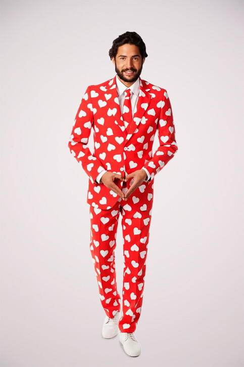 Opposuits Costumes carnaval rouge MR LOVER LOVER_0003 img1