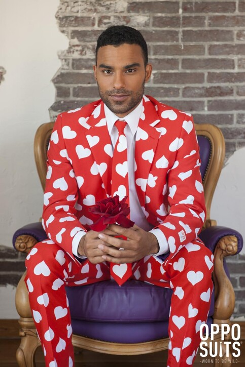 Opposuits Costumes carnaval rouge MR LOVER LOVER_0003 img2