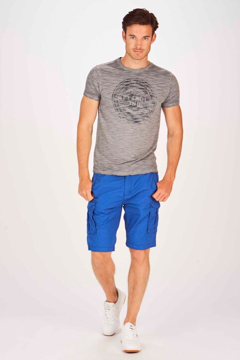 Petrol Industries® Shorts blauw MSS19SHO500_5100 SEASCAPE img2