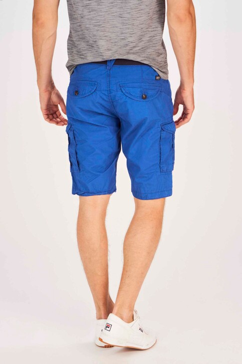 Petrol Industries® Shorts blauw MSS19SHO500_5100 SEASCAPE img3