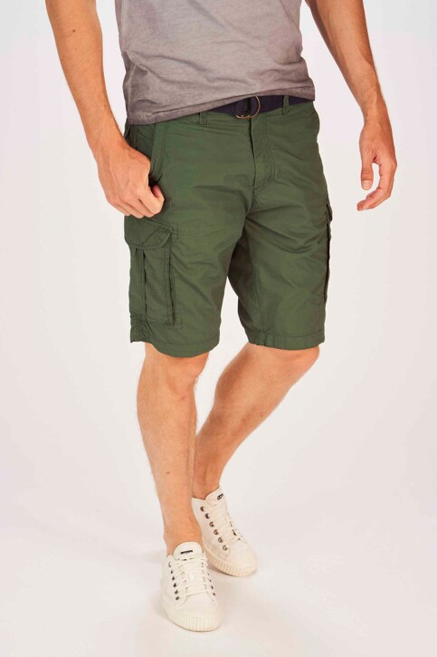 Petrol Industries® Shorts groen MSS19SHO500_6009 NIGHT GREE img1
