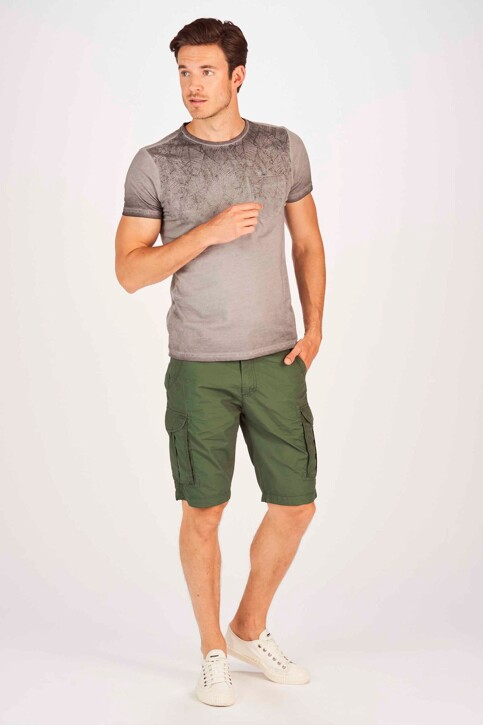 Petrol Industries® Shorts groen MSS19SHO500_6009 NIGHT GREE img2