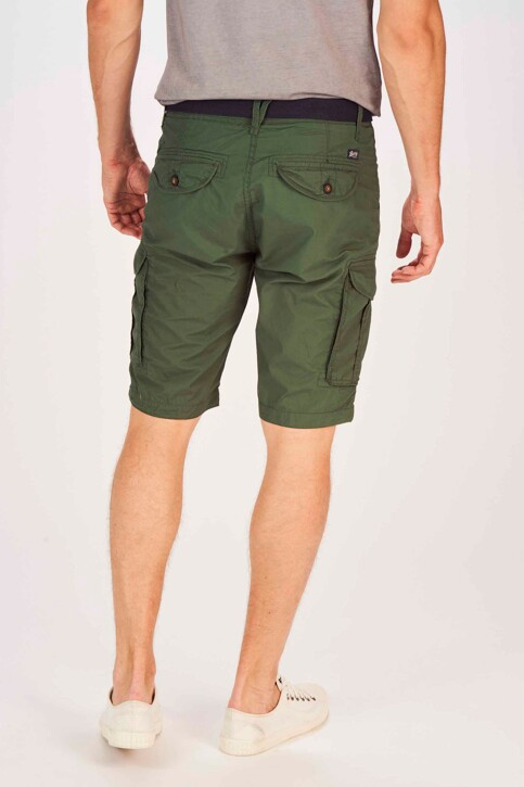 Petrol Industries® Shorts groen MSS19SHO500_6009 NIGHT GREE img3