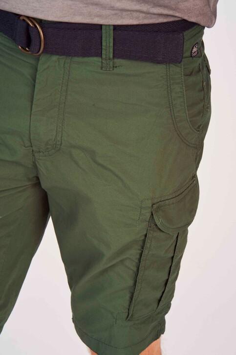 Petrol Industries® Shorts groen MSS19SHO500_6009 NIGHT GREE img4