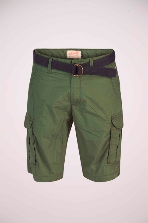 Petrol Industries® Shorts groen MSS19SHO500_6009 NIGHT GREE img5