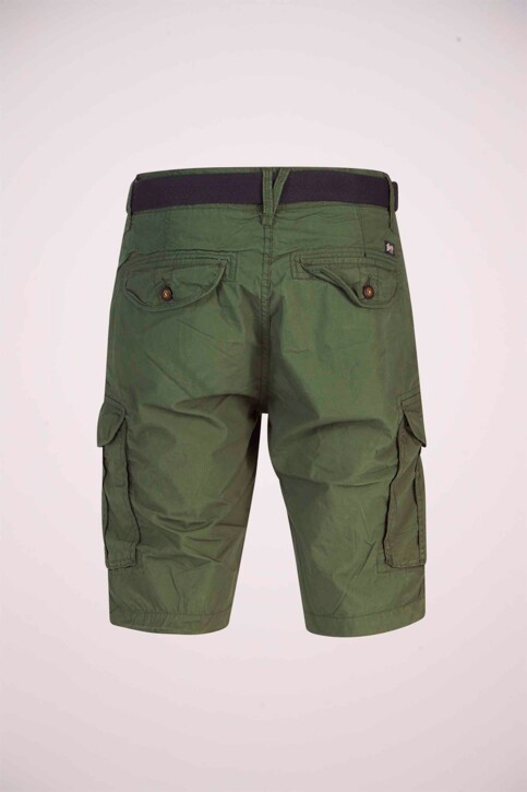 Petrol Industries® Shorts groen MSS19SHO500_6009 NIGHT GREE img6