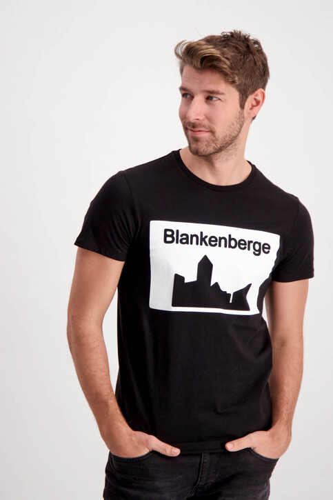 T-shirts (manches courtes) noir MUS TS BLANKENBERGE_WHITE img1