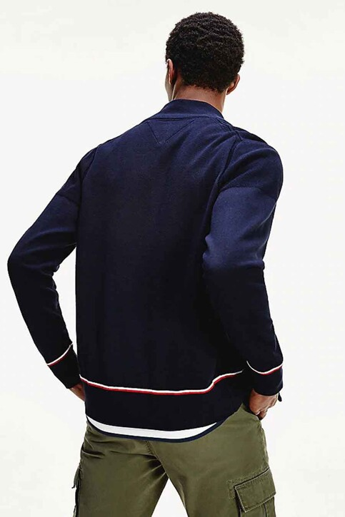 Tommy Jeans Gilets blauw MW0MW14760_DW5 DESERT SKY img3