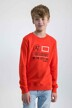 GARCIA Sweaters col O rouge N03660_2599 BRIGHT RED img2