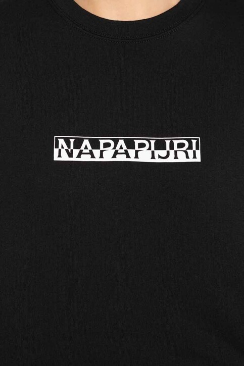 NAPAPIJRI Tops (korte mouwen) zwart NP0A4EYX0411_0411 BLACK img5
