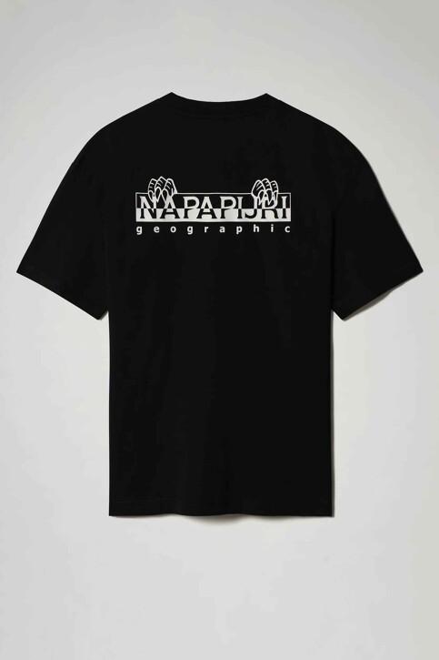 NAPAPIJRI T-shirts (korte mouwen) zwart NP0A4F5K041_041 BLACK img2