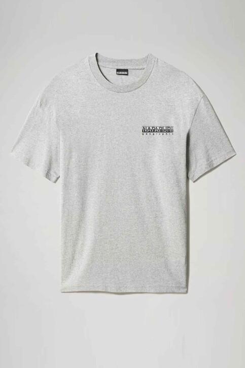 NAPAPIJRI T-shirts (korte mouwen) grijs NP0A4F5K160_160 MED GREY ME img1