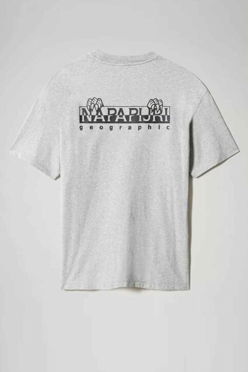 NAPAPIJRI T-shirts (korte mouwen) grijs NP0A4F5K160_160 MED GREY ME img2