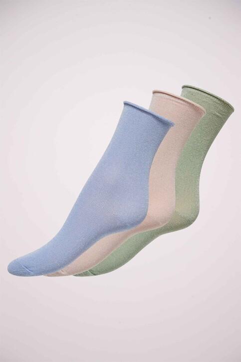 ONLY® Sokken blauw ONLDARLA METALLIC SO_CASHMERE BLUE img1