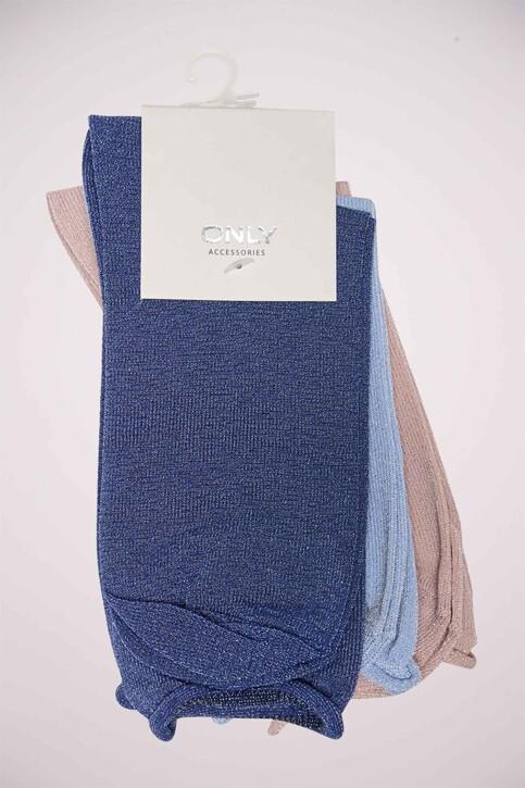 ONLY® Chaussettes bleu ONLDARLA METALLIC SO_TRUE NAVY img5